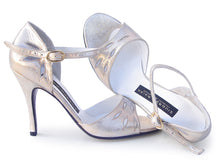 Amante. Arika Nerguiz Tango Dance Sandal Shoes. Broadway Theatrical Shoes.