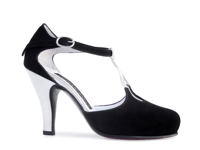 Cascabel. Arika Nerguiz Tango Dance Shoes. Broadway Theatrical Shoes.