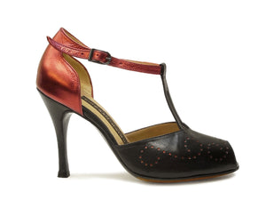 Cielo. Arika Nerguiz Tango Dance Shoes. Broadway Theatrical Shoes.
