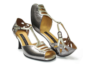 Grisella. Arika Nerguiz Tango Dance Shoes. Broadway Theatrical Shoes.