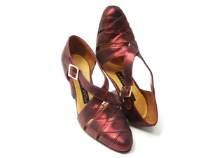 Gimena. Arika Nerguiz Tango Dance Shoes. Broadway Theatrical Shoes.