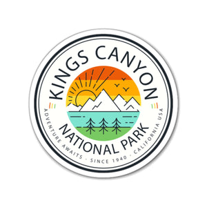 Kings Canyon National Park Magnet - Roam Free
