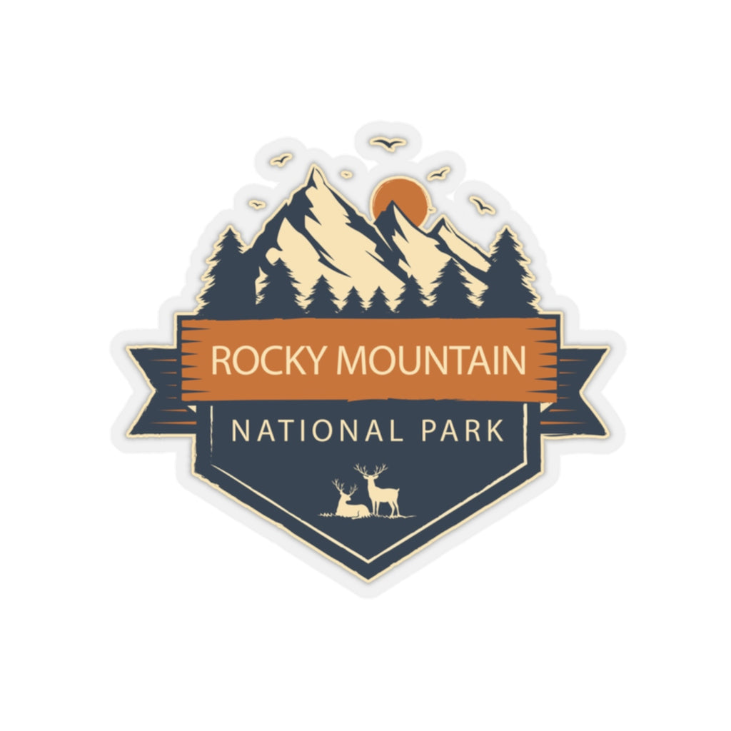 Rocky Mountain National Park Sticker, National Park Sticker, National Park Gift - Roam Free