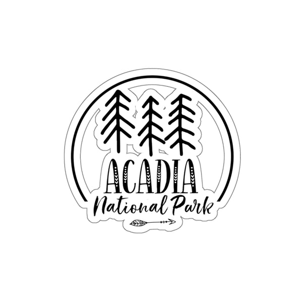 Arcadia National Park Sticker - National Park Gift - National Park Stickers - Roam Free