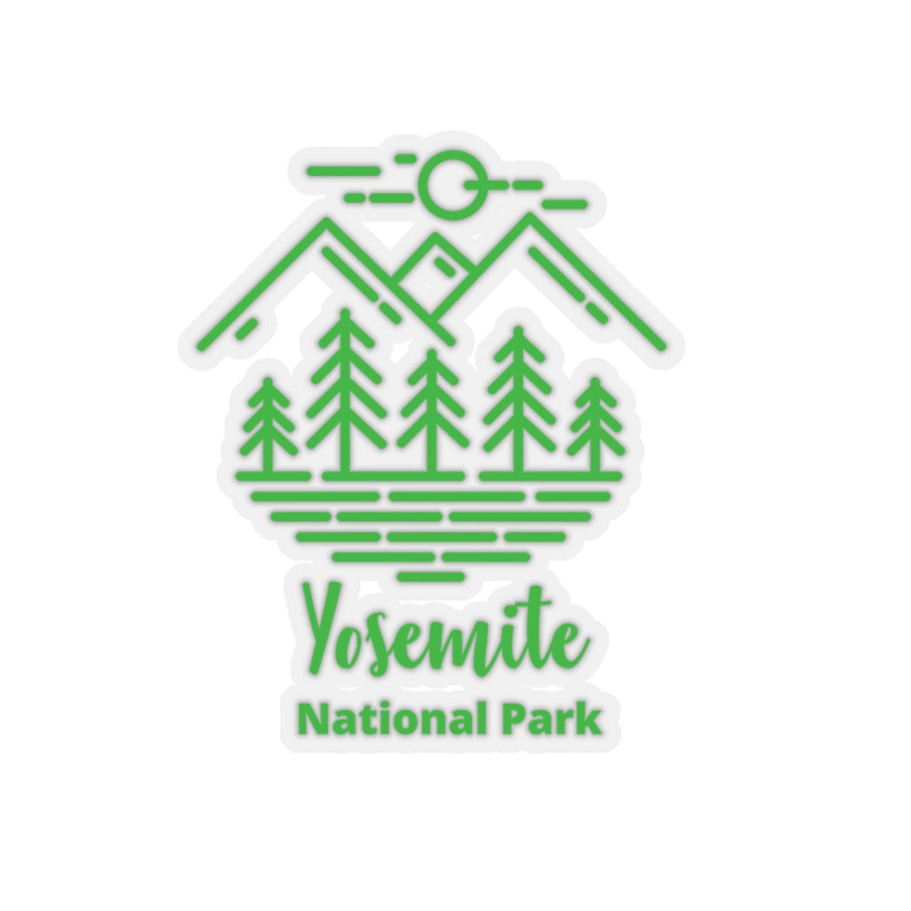 Yosemite National Park Sticker, National Park Sticker, Yosemite Gift, National Park Gift