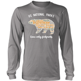 National Parks Bear Long Sleeve Tee Shirt - Roam Free