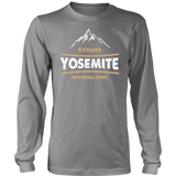 Yosemite National Park Long Sleeve Shirt M - Roam Free