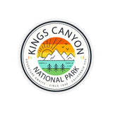 Kings Canyon National Park Sticker - Roam Free