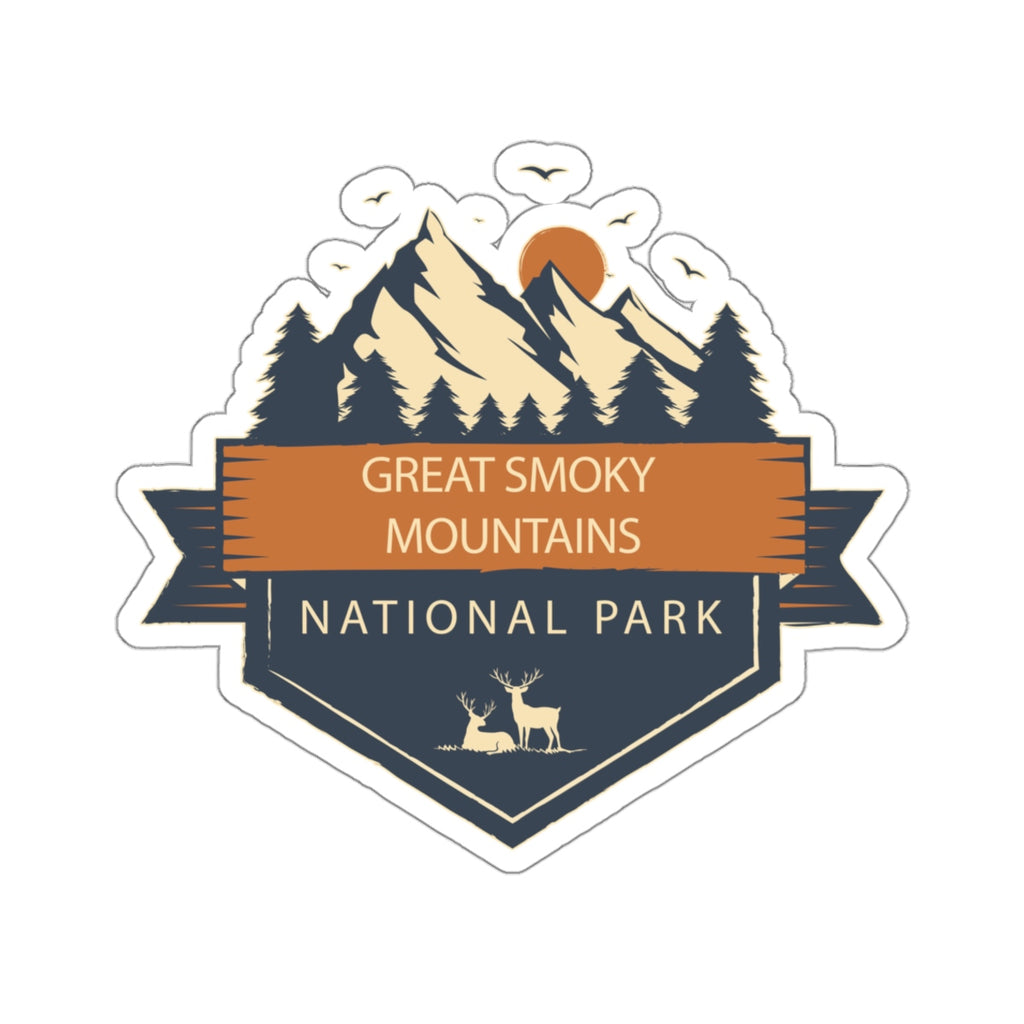 Great Smoky Mountains National Park Sticker, National Park Sticker, National Park Gifts - Roam Free