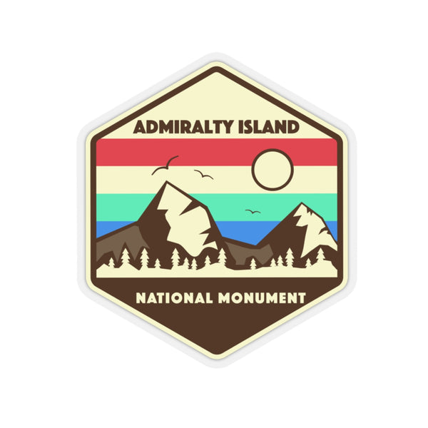 Admiralty Island National Monument Sticker, National Monument Stickers, National Monument Gifts, Admiralty Gifts - Roam Free