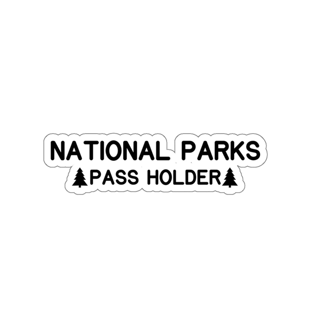 National Parks Pass Holder Sticker, National Park Gifts - Roam Free