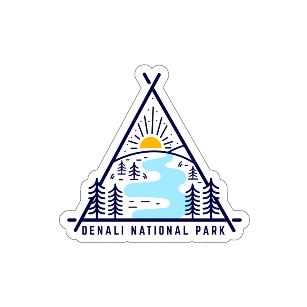 Denali National Park Sticker, National Park Sticker, National Park Gift, Denali Sticker - Roam Free
