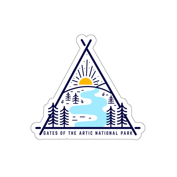 Gates Of The Arctic National Park Sticker, National Park Sticker, National Park Gift - Roam Free