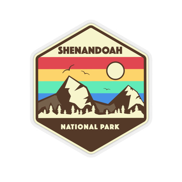 Shenandoah National Park Sticker, National Park Sticker, National Park Gift - Roam Free