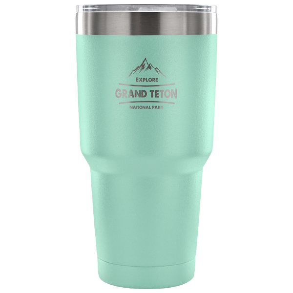 Grand Teton National Park Vacuum Tumbler National Park Gift - Roam Free