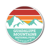 Guadalupe Mountains National Park Retro Sticker - Roam Free