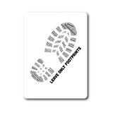 National Park Boot Print Sticker - Lists All 59 National Parks - Roam Free