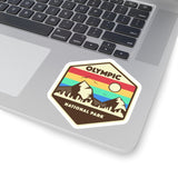 Olympic National Park Retro Sticker, National Park Sticker, National Park Gift, Olympic National Park Gift - Roam Free