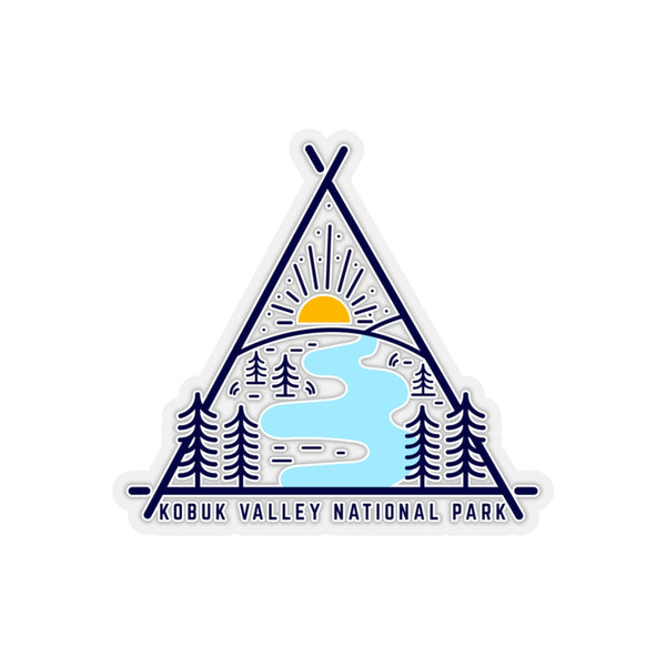 Kubuk Valley National Park Sticker, National Park Sticker, National Park Gift - Roam Free