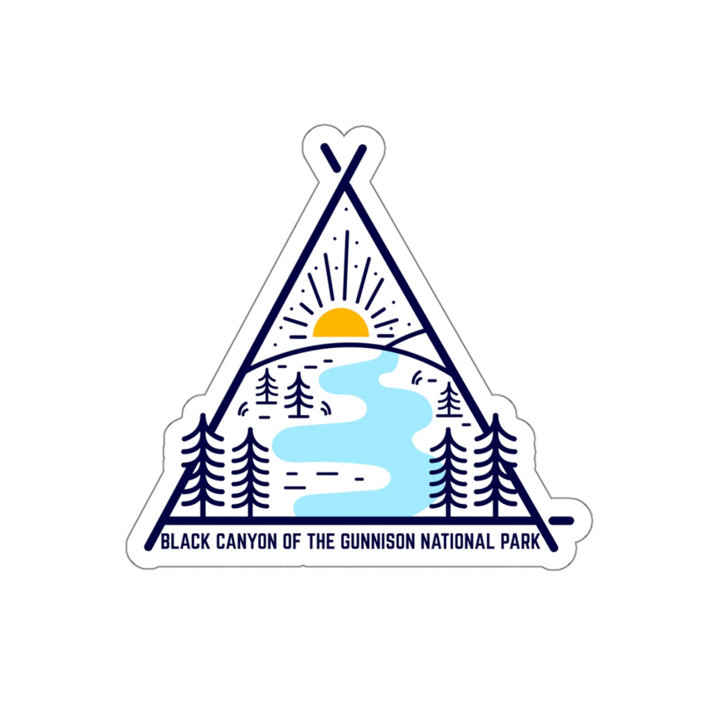 Black Canyon Of Gunnison National Park Sticker, National Park Sticker, National Park Gift, Colorado Sticker - Roam Free