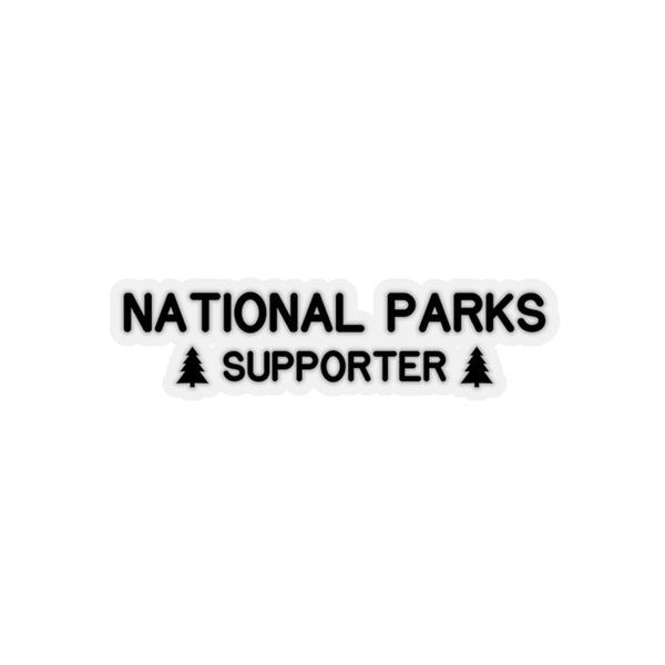 National Parks Supporter Sticker, National Parks Gifts - Roam Free