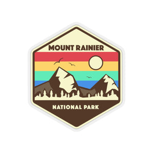 Mount Rainier National Park Sticker, National Park Sticker, Mount Rainier Gift, National Park Gift - Roam Free
