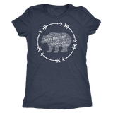 National Parks Bear T Shirt Listing all 59 National Parks - Roam Free