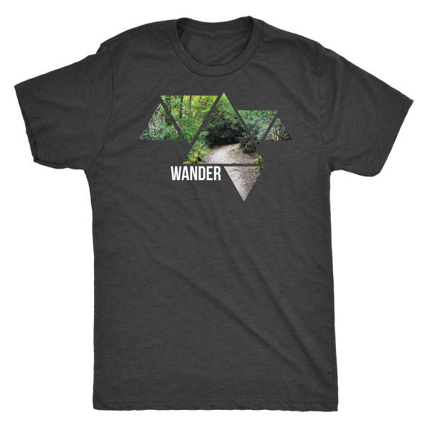 Wander Forest Triangles T Shirt - Roam Free