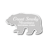 Great Smoky Mountains National Park Bear Sticker - Roam Free