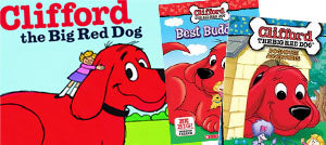 Clifford - the #1 giant red dog!