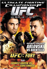 Ultimate Fighting Championship - UFC, Vol55 Fury