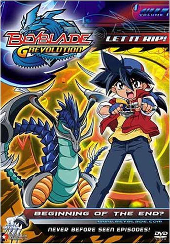 Beyblade - Grevolution - Beginning of the End (Vol. 1) DVD Movie