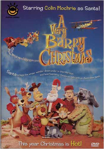 A Very Barry Christmas DVD Movie