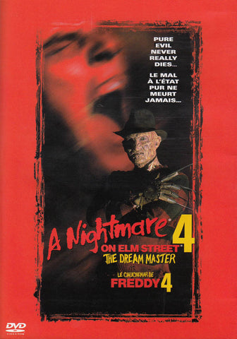A Nightmare on Elm Street 4 - The Dream Master (Bilingual) (New Line) DVD Movie