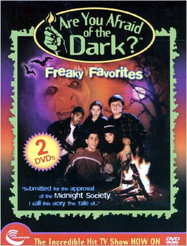 Are You Afraid Of The Dark - Freaky Favorites (Boxset) DVD Movie