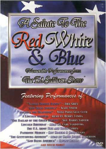 A Salute to the Red, White, and Blue: Memorable Performances from The Ed Sullivan Show DVD Movie