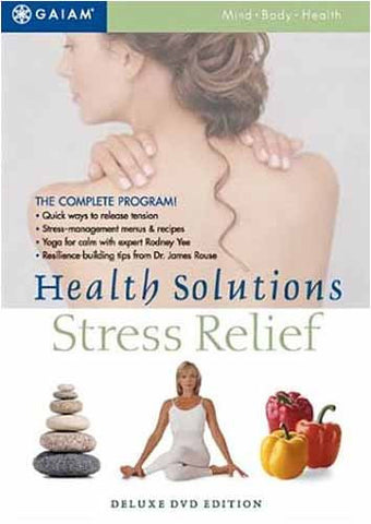 Health Solutions - Stress Relief (Deluxe DVD Edition) DVD Movie