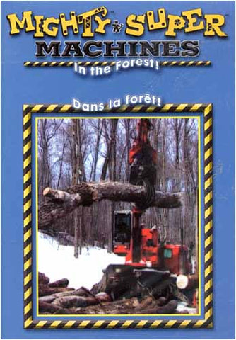 Mighty Machines - In the Forest (Bilingual) DVD Movie