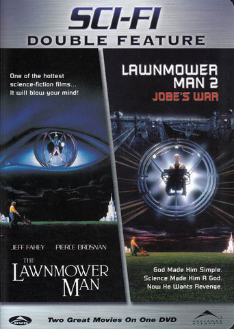 The Lawnmower Man / The Lawnmower Man 2 (Double Feature) DVD Movie