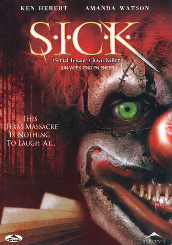 SICK (Serial Insane Clown Killer) (Bilingue) DVD Film