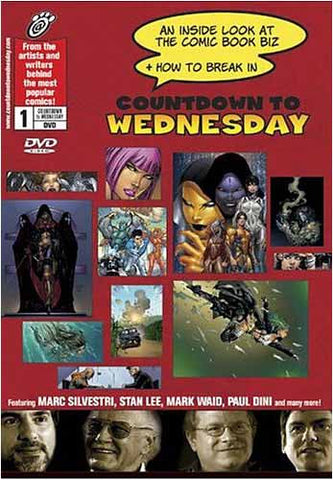 Countdown to Wednesday: An Inside Look at the Comic Book Biz and How to Break In DVD Movie