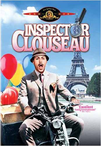 Inspector Clouseau (MGM) DVD Movie