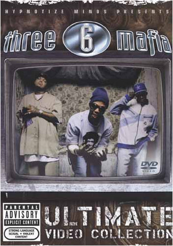 Three 6 Mafia - Ultimate Video Collection DVD Movie
