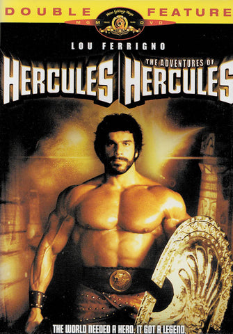 Hercules/ The Adventures of Hercules (Double Feature) (MGM) DVD Movie