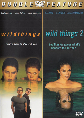 Wild Things / Les choses sauvages 2 (Double Feature) DVD Movie