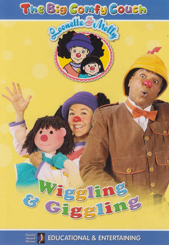 The Big Comfy Couch - Wiggling and Giggling, Vol. 4 DVD Movie