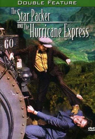 The Star Packer / Le Hurricane Express - John Wayne (Double Feature) DVD Film
