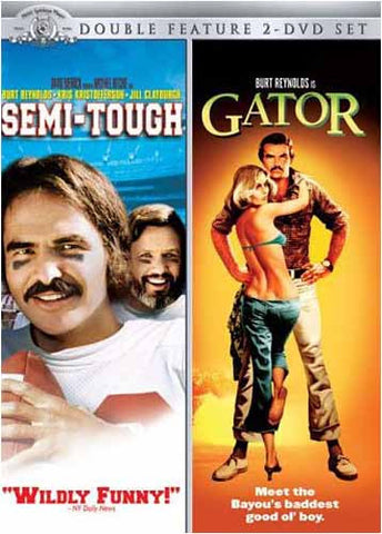 Semi-Tough / Gator (Double Feature 2 - DVD Set) DVD Movie