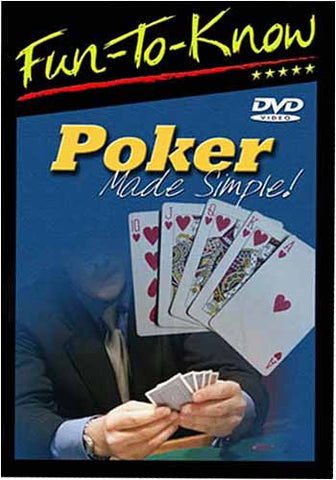 Fun to Know - Poker Made Simple! DVD Movie
