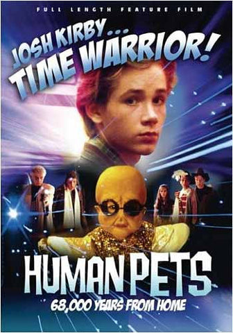 Josh Kirby... Time Warrior! The Human Pets DVD Movie